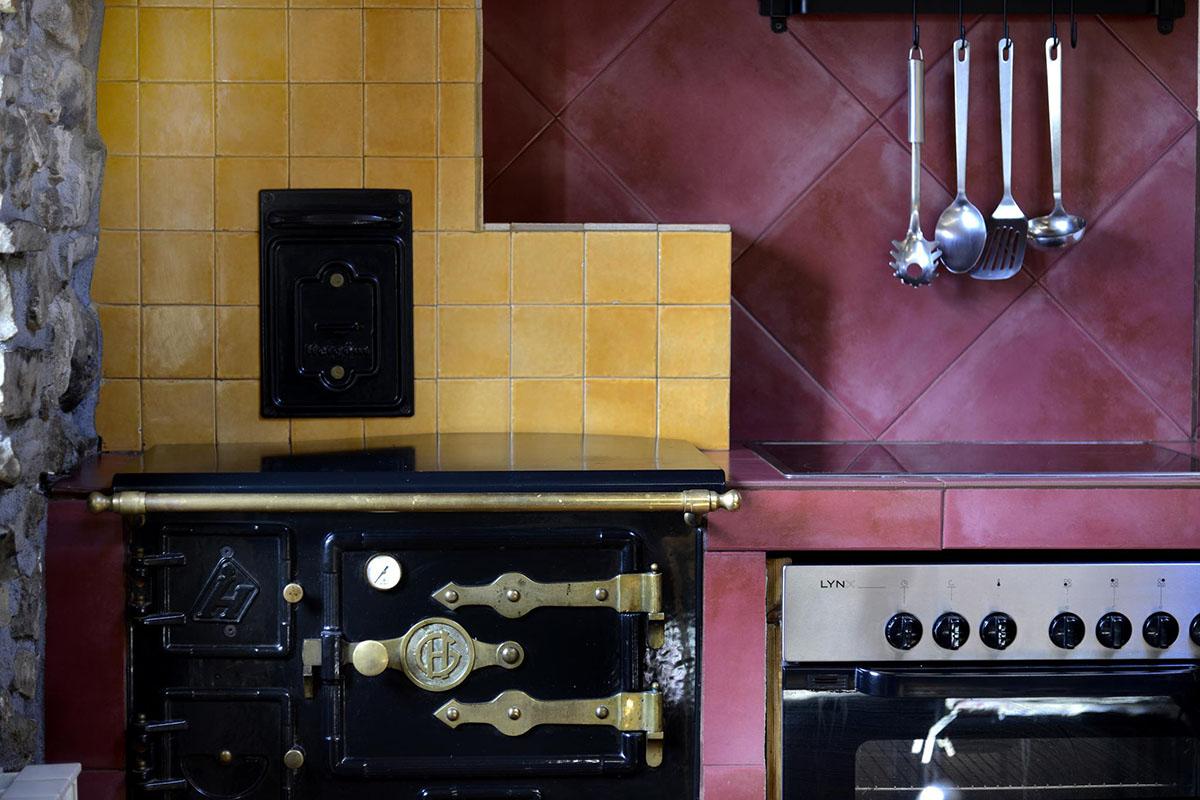 Anboto: Detalle cocina